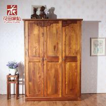 木储藏平拉门成人东南亚 衣柜