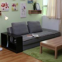 人造板木密度板/纤维板框架结构多功能高弹泡沫海绵成人韩式 沙发