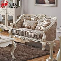 欧式沙发橡胶木多功能海绵 沙发