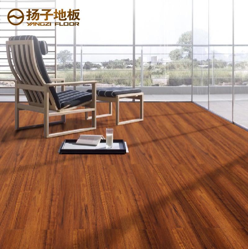 扬子 龙凤檀高密度纤维板 地板