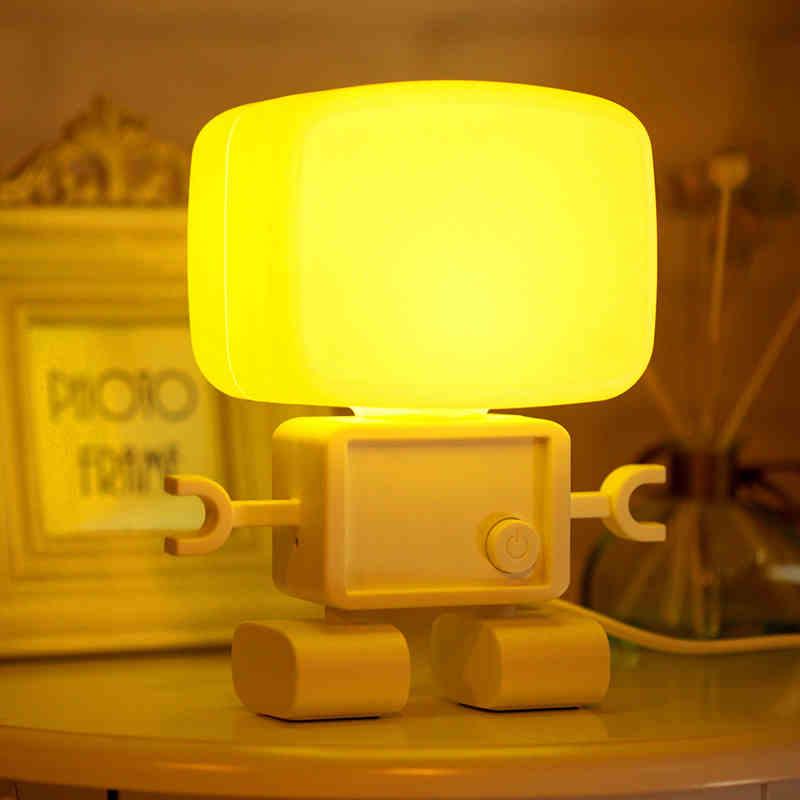 朗美科 黄色白色LED 小夜灯