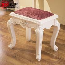 橡胶木成人欧式 梳妆凳