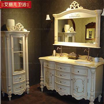 艾丽儿 橡木大理石台面欧式 071浴室柜