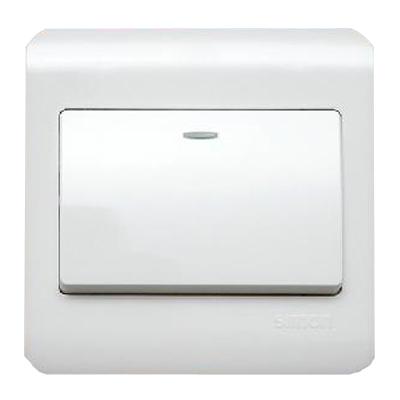 西蒙 白色 西蒙C3系列 白色 一位单极开关开关