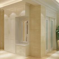 投影面积 门厅空间—品欧4号门厅柜(英伦白)定制衣柜