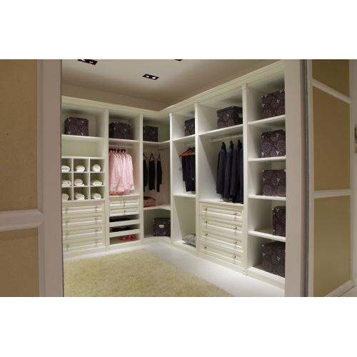 大自然温莎堡衣柜 简欧衣帽间柜体大自然温莎堡定制衣柜定制衣柜