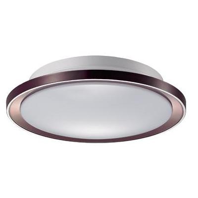 三雄·极光 咖啡色LED圆形吸顶灯 吸顶灯