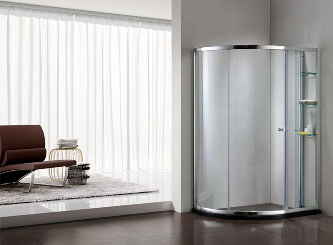 朗斯 移门式弧扇型 淋浴房淋浴房