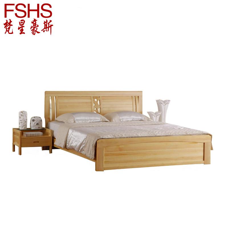 松木组装式架子床简约现代