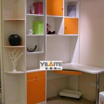 投影面积 依莱特衣柜十书柜书桌/E1级密度板依莱特定制衣柜定制衣柜