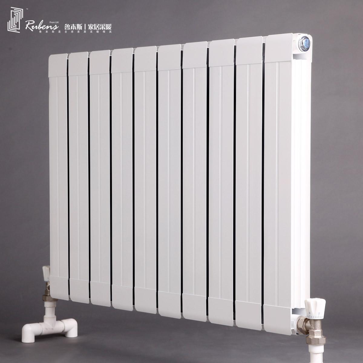 鲁本斯 铜铝复合普通挂墙式集中供热 铜铝复合8060,片宽88,片高650、1550、1850暖气片散热器