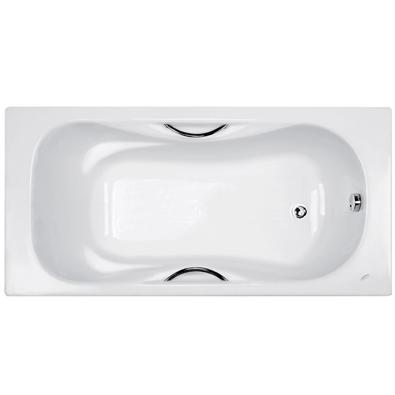美标 无裙浴缸(带扶手)铸铁嵌入式 浴缸