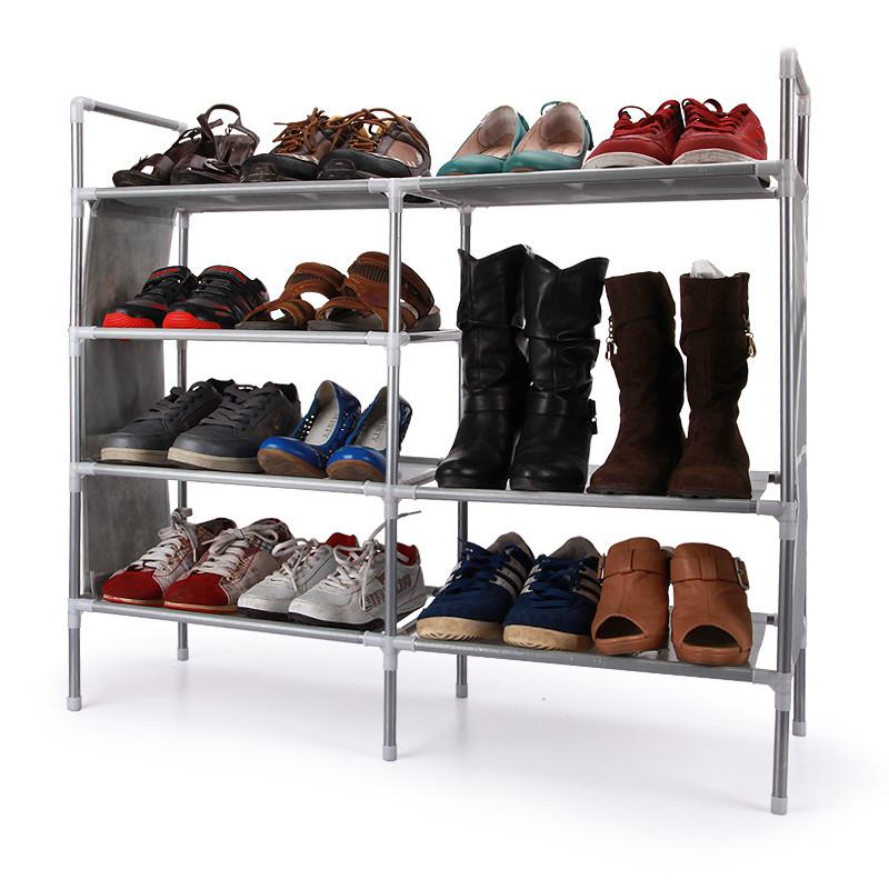 天兰美 金属铁支架结构拆装简约现代 鞋架