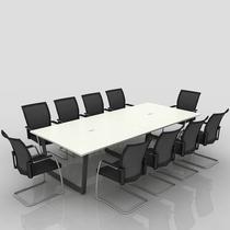 钢木可拆卸条形 会议桌