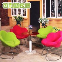 布高弹泡沫海绵艺术成人简约现代 沙发椅