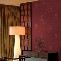 印花有图案客厅现代中式 墙纸