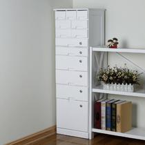 木落地文件柜移动矮柜带抽屉移动 文件柜