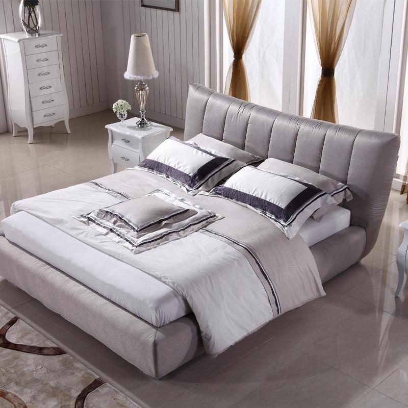 木水洗组装式架子床混纺方形简约现代