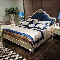桦木框架结构欧式雕刻 床