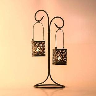 柔软时光 吊灯21249铁杯状蜡烛块状蜡烛欧式 烛台