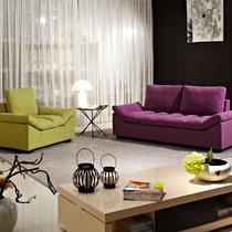 单人位+三人位简约现代 沙发