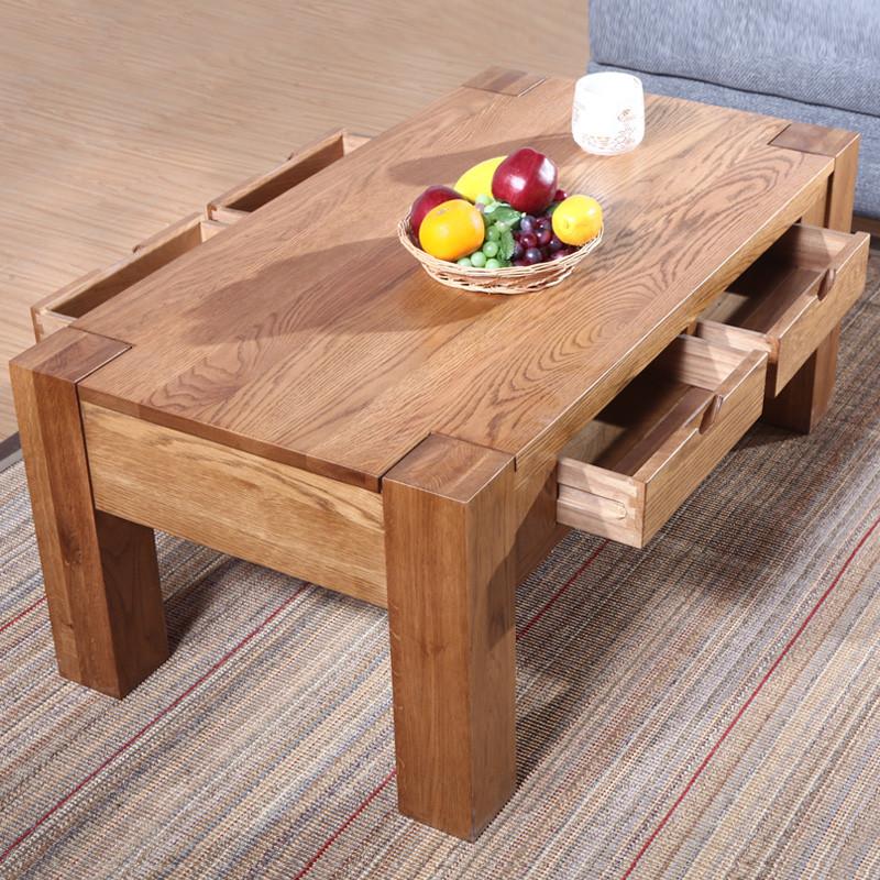 沃德匹亚 油漆工艺木质工艺喷漆榫卯结构橡木欧式 茶几