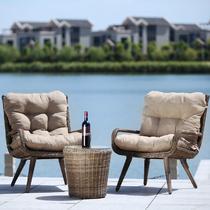 三件套组合椅子茶几框架结构移动抽象图案欧式 咖啡桌