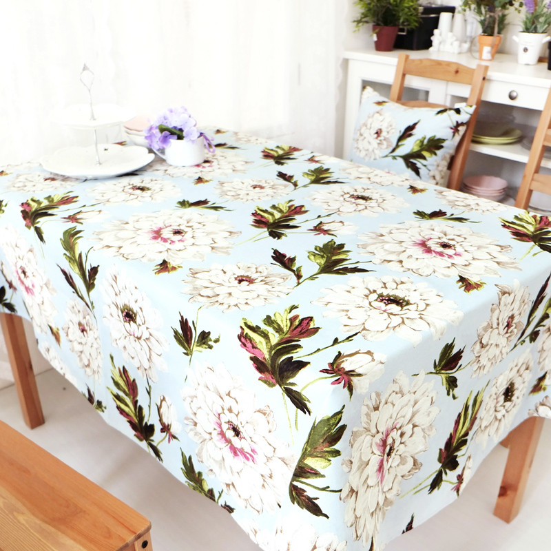 亮马家 紫嫣布植物花卉北欧/宜家 桌旗
