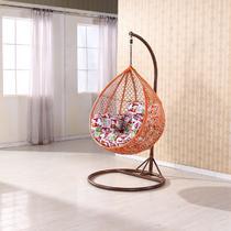 经典黑雅致白编织/缠绕/捆扎结构移动抽象图案田园 吊篮