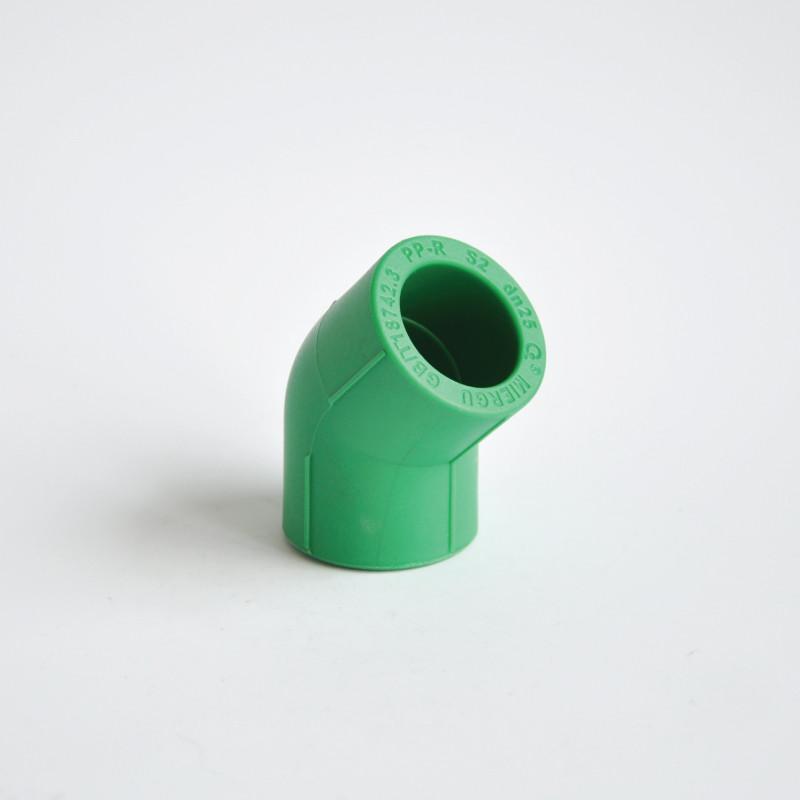 美尔固 DN20(4分管 ) AL-PPR优家稳态抗菌管 45度弯头 DN20管材