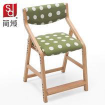曲木结构桦木升降北欧/宜家 儿童椅