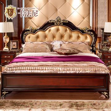 装式架子床欧式拼板图片