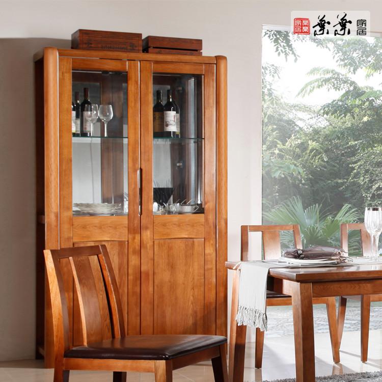 叶叶家居 酒柜箱框结构多功能抽象图案现代中式