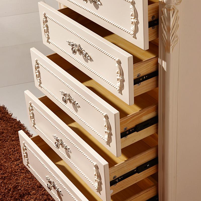 雅云卡丹 五斗柜四斗柜框架结构橡木储藏艺术成人欧式