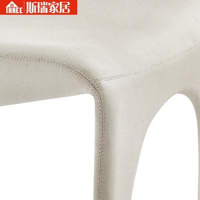 斯瑞家居 黑色白色实木皮饰面橡木成人北欧 宜家 餐椅价格,图片,品牌信息 齐家网产品库