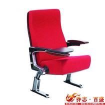 红色布艺 礼堂椅