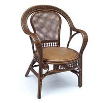 植物藤编织/缠绕/捆扎结构移动艺术成人田园 藤椅