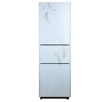美的 左开门三门定频一级 bcd-216tgsm冰箱