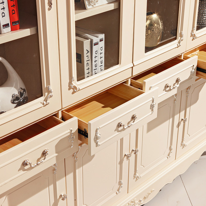 亿森堡 浮雕实木皮饰面箱框结构橡木储藏植物花卉成人