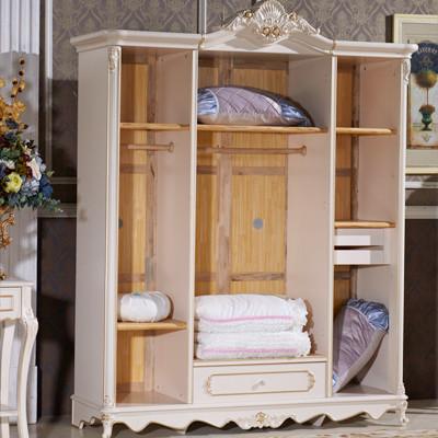 御品工匠 白色橡木欧式 y105衣柜价格,图片,品牌信息