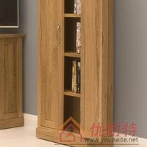 箱框结构橡木储藏简约现代 视听柜