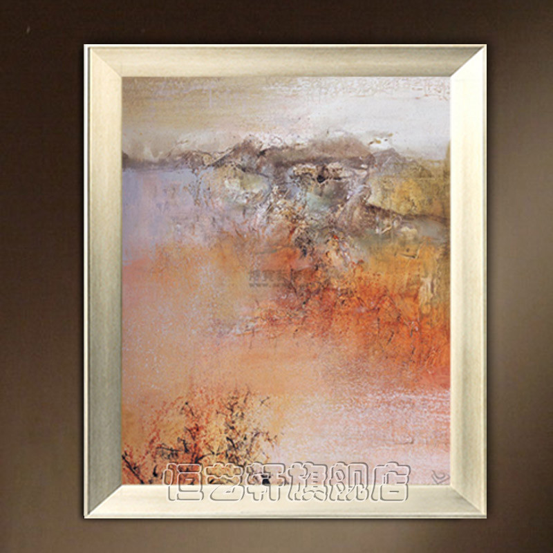 恒艺轩 实物拍照立体无框单幅抽象图案手绘 yo98油画