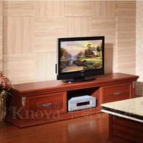 投影面积 欧式电视柜酒红樱桃定制衣柜