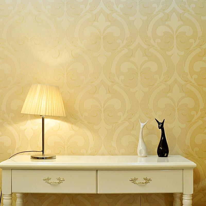 洛可可 布皮有图案客厅欧式 墙纸