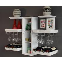 黑色白色人造板密度板/纤维板支架结构韩式 酒架