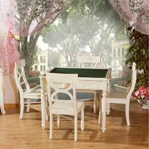 组装非电动框架结构橡木拆装抽象图案韩式 麻将桌