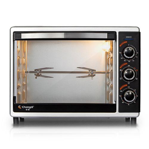 长帝 砂黑色全国联保机械式卧式 CVRF30WL电烤箱