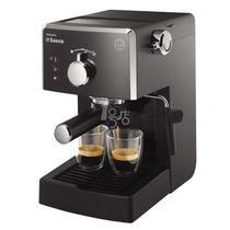 黑色不锈钢15Bar咖啡杯座50HZ意大利式泵压式 咖啡机