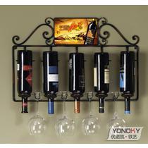 墨玉黑摩卡铜雪山白焊接铁金属工艺欧式 酒架