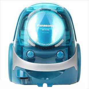 松下 水蓝色负离子吸嘴卧式尘盒干式 吸尘器